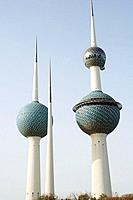 Kuwait Towers, Kuwait city,