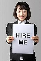 Young Korean Businesswoman