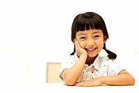 Korean Girl Smiling