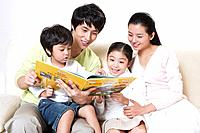 Korean Family at Home