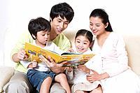 Korean Family at Home