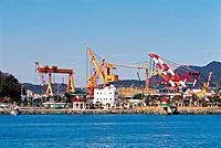 Shipyard,Tongyeong,Gyeongnam,Korea