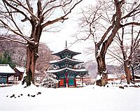 Ssangbongsa Temple,Jeonnam,Korea
