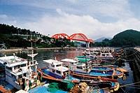 Samcheonpodaegyo Bridge,Namhae Island,Gyeongnam,Korea