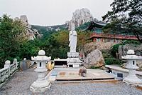 Boriam Temple,Namhae Island,Gyeongnam,Korea