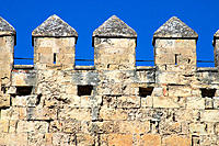 Cordoba, Spain, Battlements on Torre de La Calahorra