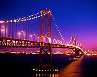 Bay Bridge. San Francisco. CA. USA