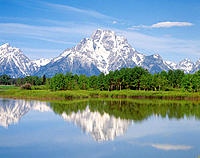 Grand Teton National Park. Wyoming. USA
