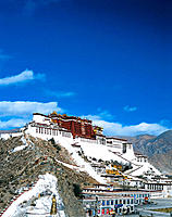 Potala Palace. Lhasa Municipality. Tibet. China