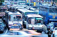 Traffic. Shanghai. China
