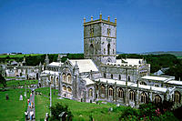 St. David's cathedral, Dyfed. Wales, UK