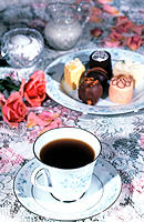Coffee and truffles