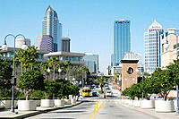 Tampa skyline. Florida, USA