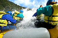 Rafting. Chile