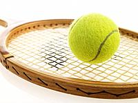 Tennis racquet and ball (thumbnail)