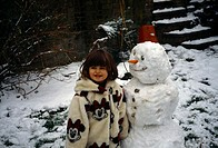 Child With Snowman