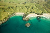 Coastline of north island