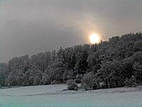winter _ sundown