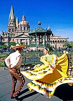 Guadalajara City. Dancers. Mexico (thumbnail)