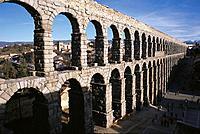 Acueducto de Segovia.Arquitectura romana S.I y II.Segovia.Castilla y León.España.
