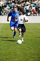 Defender Chasing the Opposition