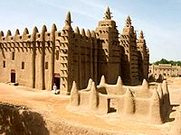 Great Mosque. Djenné. Mopti region. Niger Inland Delta. Mali. West Africa