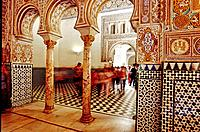 Reales Alcazares, Sevilla. Andalusia, Spain