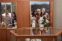 People looking in windows of jewellery store