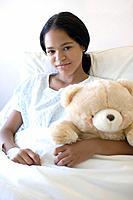 Teenage hospital patient