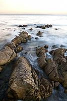 Rocky Shore, Monterey, California, USA