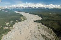 Wrangell Saint Elias National Park, Alaska.