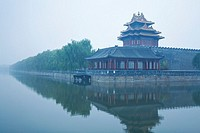 China, Beijing, lake of Forbidden City