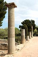 Roman ruins, Empuries. Alt Emporda, Girona province, Catalonia, Spain