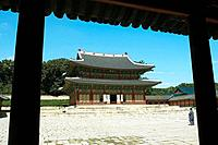 Injeongjeon Hall (National Treasure),Changdeok Palace, Seoul, South Korea