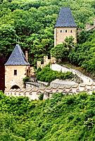 Karlstejn Castle near Prague, Czech Republic