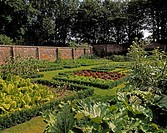 Salad Garden & Box Potager, The Walled Garden Ardgillan Castle, Skerries, Co Dublin, Ireland