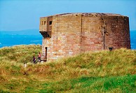Martello Tower, Magilligan Point, Co Derry, Ireland