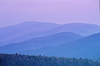 Blue Ridge Mountains, Virginia.