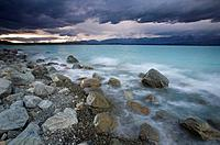 Lake Pukaki, Southern Alps, New Zealand