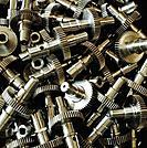Machined steel gears