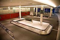 Canada, Toronto, Ontario airport, empty baggage carousel