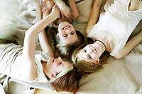 Girls having fun, Three girls having fun