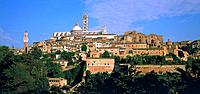 Siena, Stadtansicht, Toskana, Italien