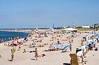 Beach, Rostock_Warnemuende, Baltic Sea, Mecklenburg_Western Pomerania, Germany
