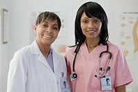 Portrait of a doctor and nurse
