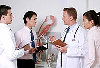 Doctors having discussion