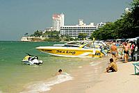 Thailand, Pattaya, Asia, South East Asia, Beach Road, beach, sea activities, boat, sand