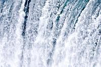 Horseshoe Falls on the Canadian side  Niagara Falls, Ontario  Canada