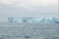 Iceberg in the southern atlantic ocean