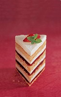 Summer fruit Bavarian Mille_Feuille